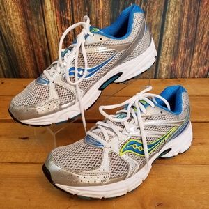 SAUCONY WOMENS COHESION 6 ATHLETIC RUNNING SHOES